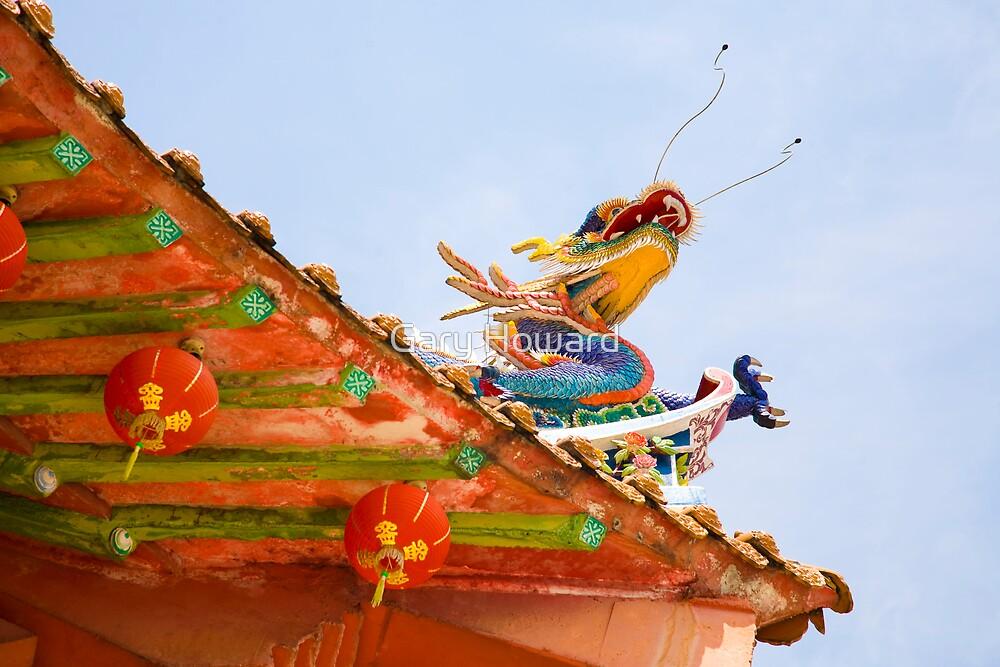 chinese temple, kuala lumpur by Gary Howard