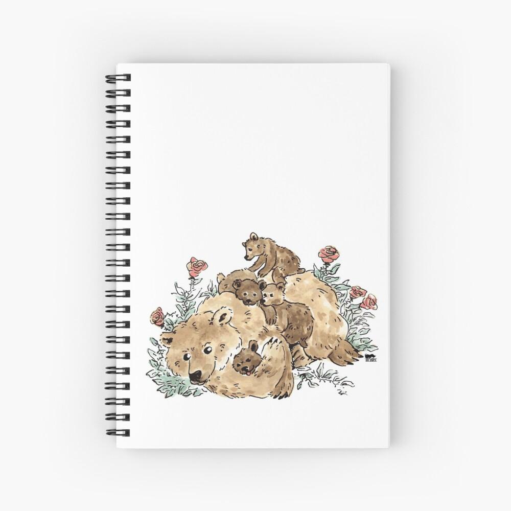 Mummy Bear Spiral Notebook