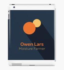 Owen Lars - Star Wars iPad Case/Skin