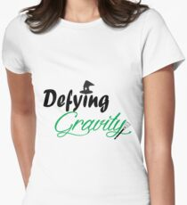 Defying Gravity Women's Fitted T-Shirt