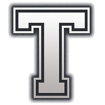 Letter T - design by tonydew