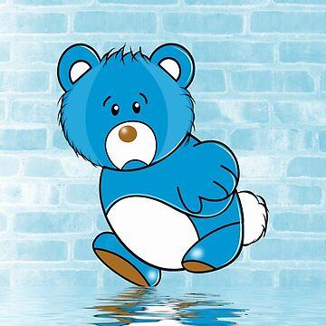 Grumpy Bear by Rainy