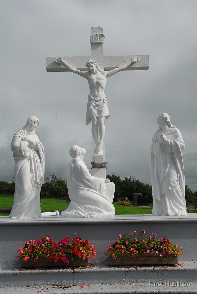Crucifixion, Ireland by Janet Houlihan