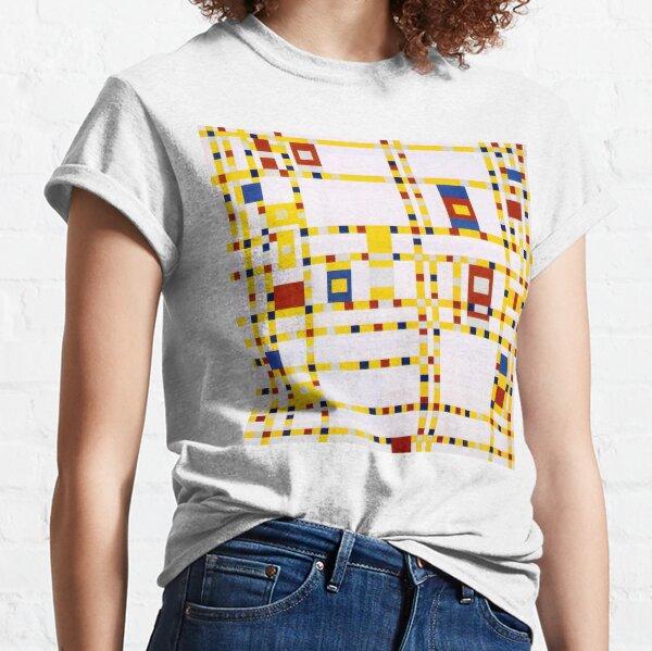 MONDRIAN. Broadway Boogie Woogie. Masterpiece. Classic T-Shirt
