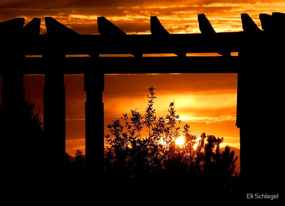 Sunset Terrace by Eli Schlagel