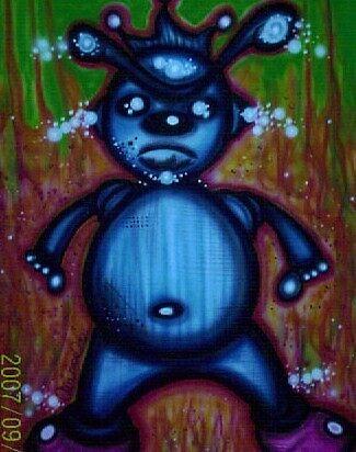 the blue boy. by airmoe69