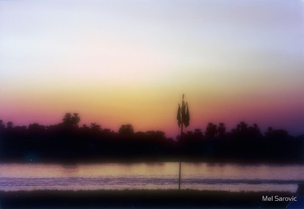 Egyptian Sunset by Mel Sarovic