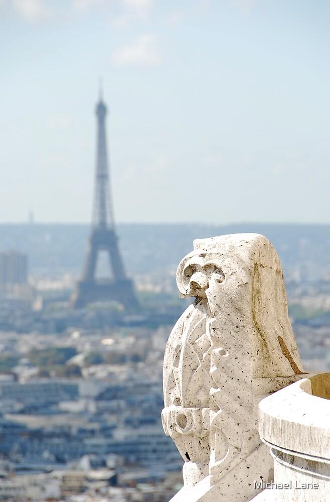 vue du Sacré Coeur by Michael Lane