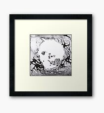 Radiohead - A Moon Shaped Pool Framed Print