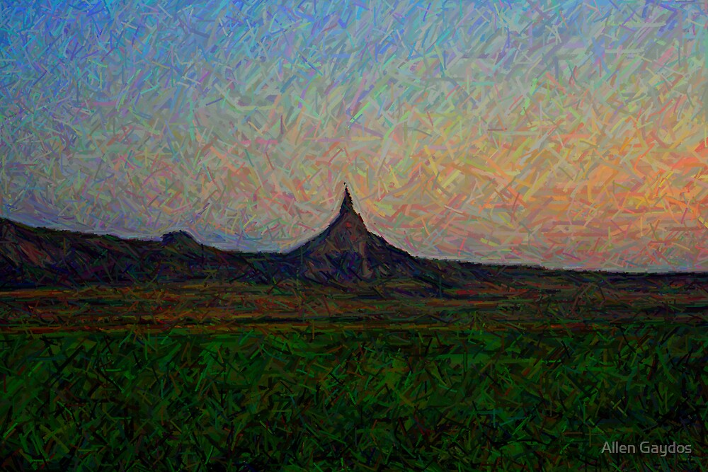 Chimney Rock and Jail House Rock by Allen Gaydos