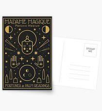 Madame Magique  Postcards