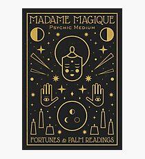 Madame Magique  Photographic Print