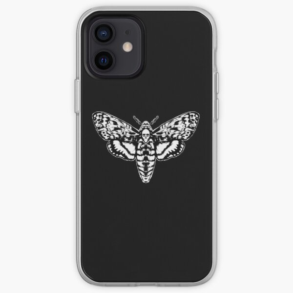 Death's Head Moth iPhone Soft Case