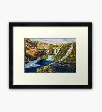 Fairytale Waterfall  Framed Print