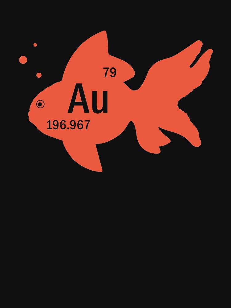 Funny goldfish au periodic table element shirt for women men funny goldfish au periodic table element shirt for women men by anna0908 urtaz Gallery