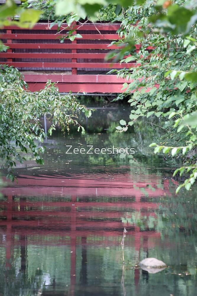 A Red Bridge by ZeeZeeshots