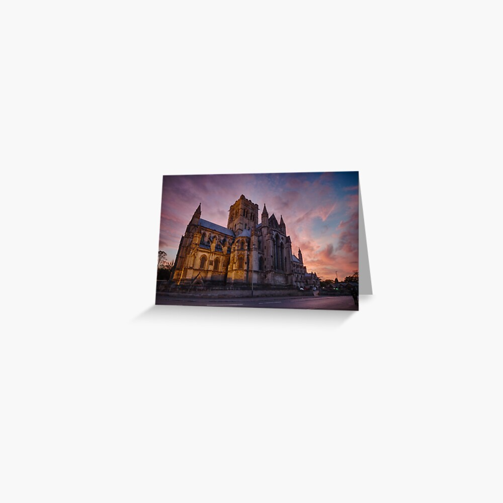 The Cathedral of St John the Baptist, Norwich Greeting Card