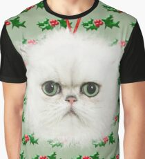 Persian Cat Christmas tree bauble decoration Graphic T-Shirt