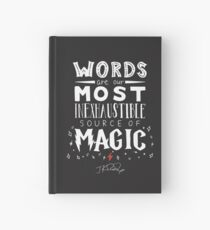 JK Rowling Magic Quote Hardcover Journal