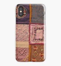 PATCHWORK #pearls #decoration iPhone Case