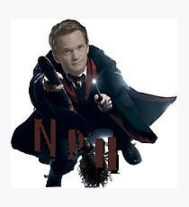Neil Patrick Harris-NPH/HP Photographic Print