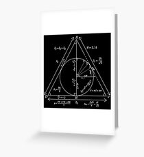 Mathly Hallows (Clean Version) Greeting Card