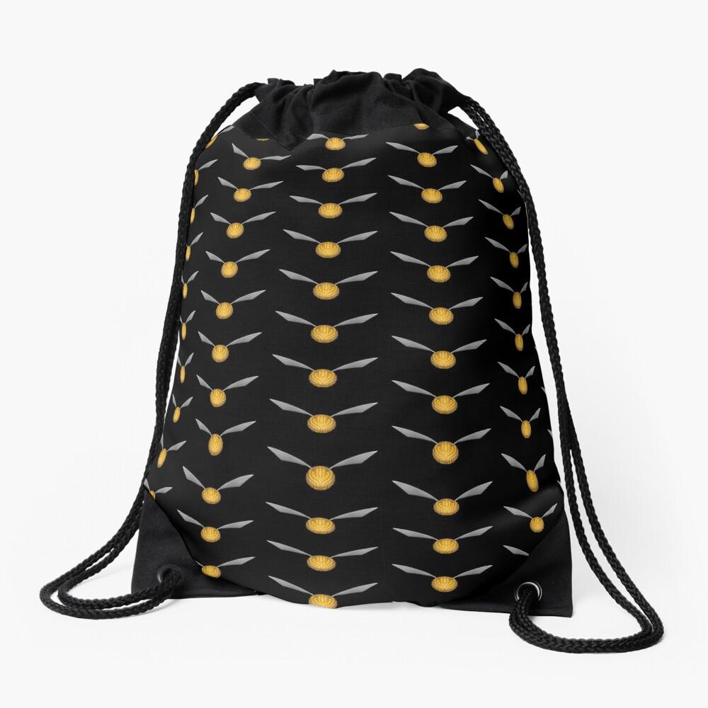 Golden Snitch Drawstring Bag
