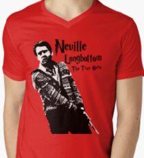Neville Longbottom: The True Hero Men's V-Neck T-Shirt