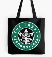 The Three Broomsticks Coffee Shop Tote Bag