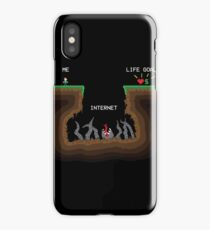 Internet VS Life goals iPhone Case/Skin