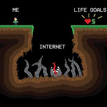 Internet VS Life goals by SxedioStudio