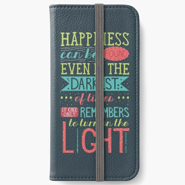 Happiness iPhone Wallet