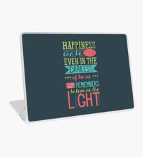 Happiness Laptop Skin