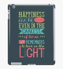 Happiness iPad Case/Skin