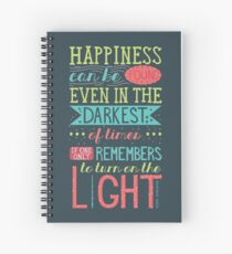 Happiness Spiral Notebook