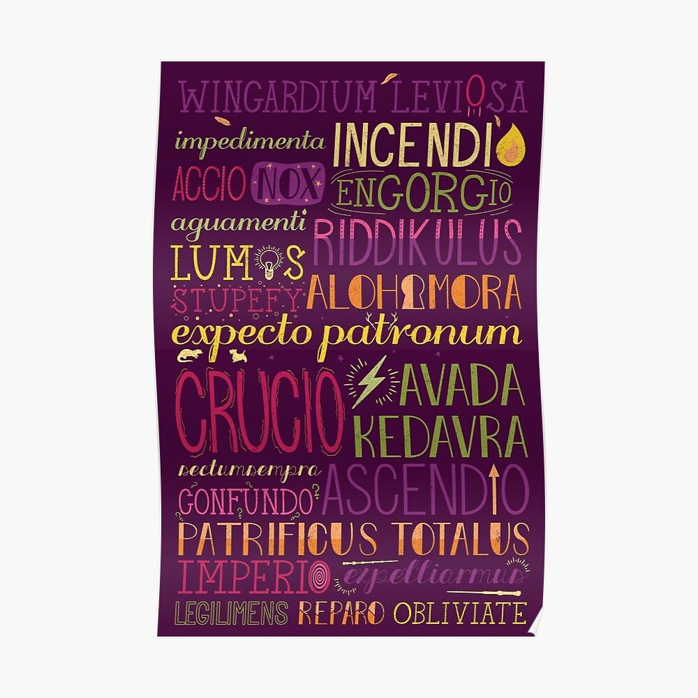 Zaubersprüche Poster
