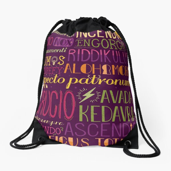 Spells Drawstring Bag