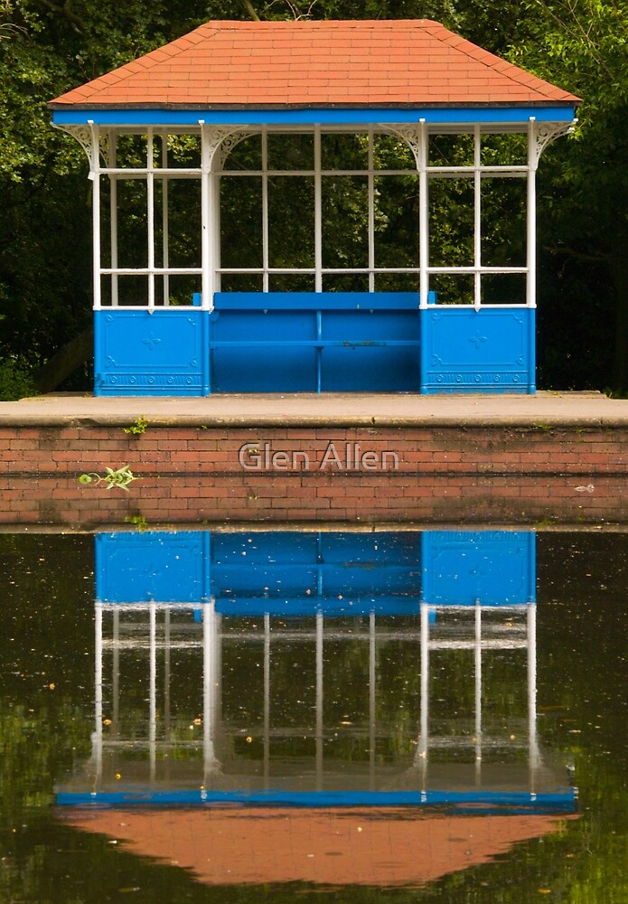Reflections in the Park by Glen Allen