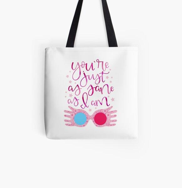 Du bist genauso gesund wie ich Allover-Print Tote Bag