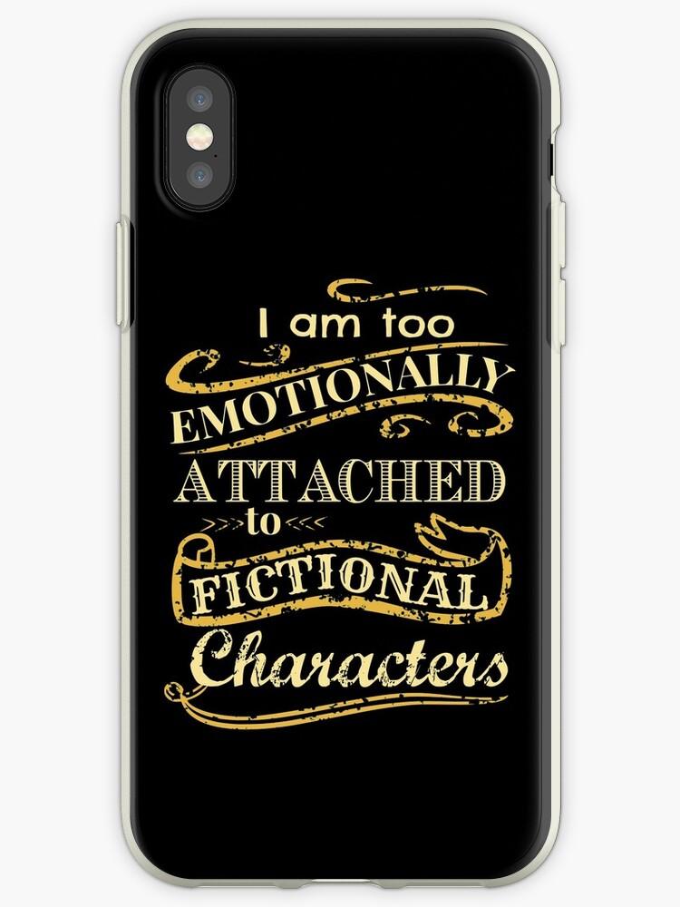 «Estoy demasiado apegado emocionalmente a los personajes de ficción» de FandomizedRose