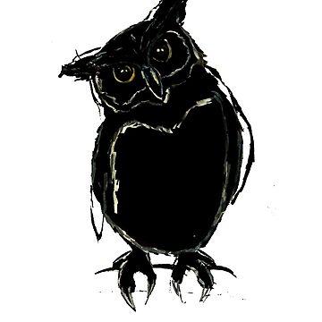 Dark owl by cmcewan