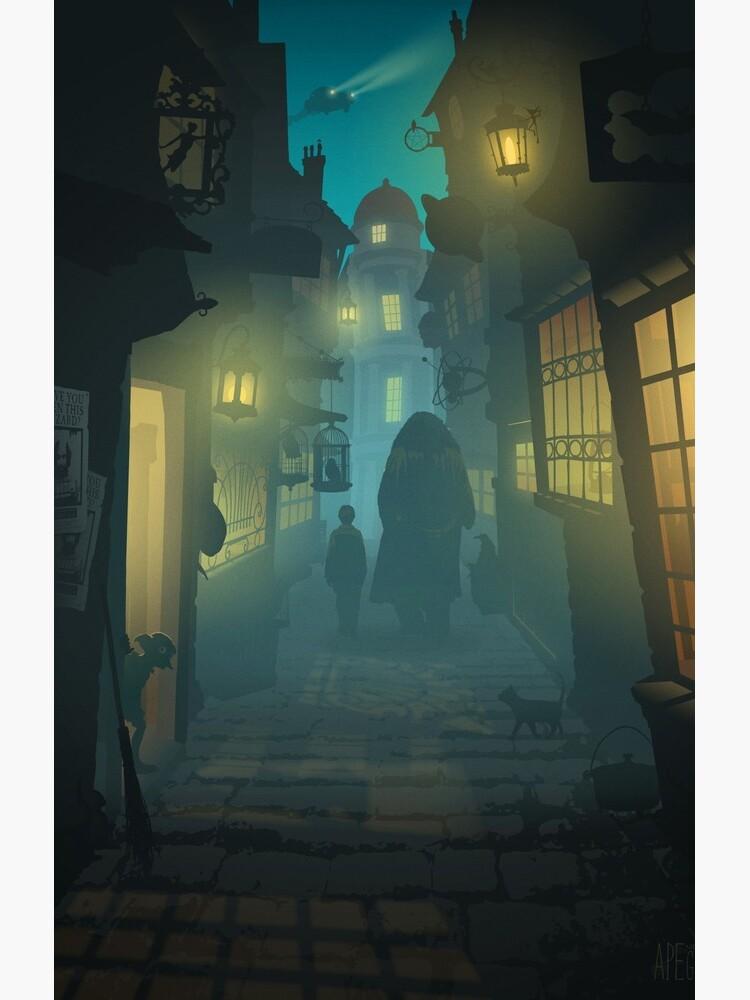Diagon Alley by apemeetsgirl