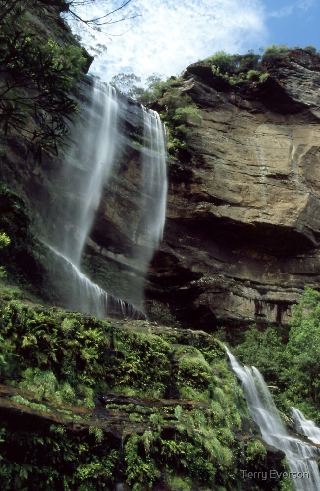 Katoomba Falls #2 by Terry Everson