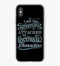 Vinilo o funda para iPhone Estoy demasiado apegado emocionalmente a los personajes ficticios # 2