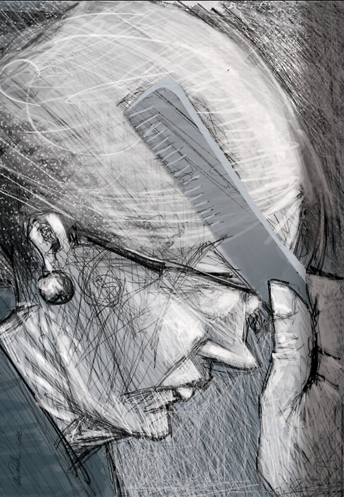 Elderly woman  by Mauricio Pommella