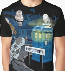 Hedwig Says Who! Graphic T-Shirt