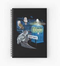 Hedwig Says Who! Spiral Notebook