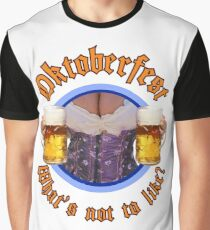 Oktoberfest Beer and Boobs Graphic T-Shirt