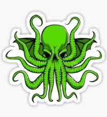 Mad God Cthulhu Sticker