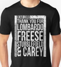 Drummer Gifts Thanks Lombardo Freese Stubblefield Carey Unisex T-Shirt
